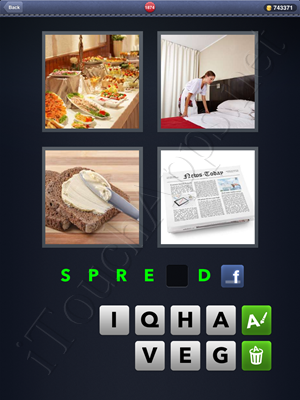 4 Pics 1 Word Level 1874 Solution
