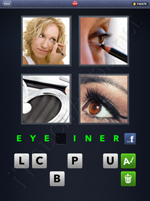 4 Pics 1 Word Level 1876 Solution