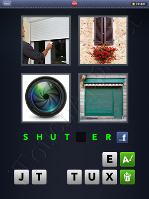 4 Pics 1 Word Level 1878 Solution