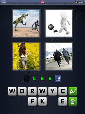 4 Pics 1 Word Level 1882 Solution