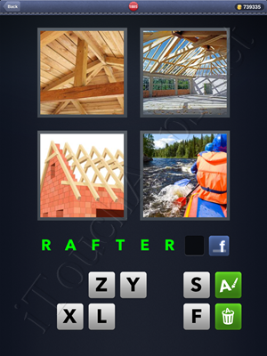 4 Pics 1 Word Level 1885 Solution