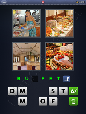 4 Pics 1 Word Level 1895 Solution