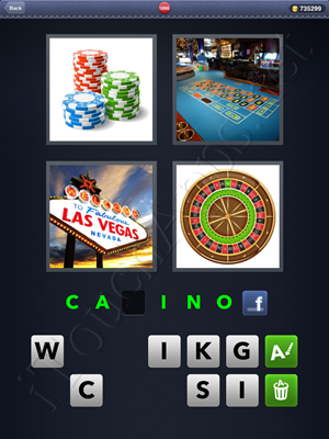 4 Pics 1 Word Level 1896 Solution