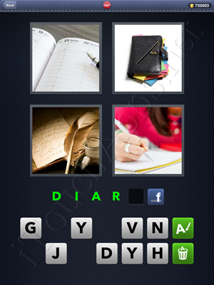4 Pics 1 Word Level 1897 Solution