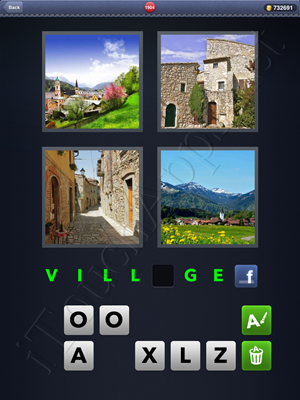 4 Pics 1 Word Level 1904 Solution