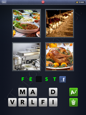 4 Pics 1 Word Level 1907 Solution