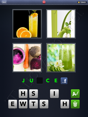 4 Pics 1 Word Level 1914 Solution