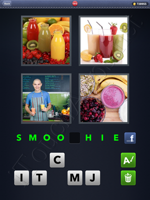 4 Pics 1 Word Level 1915 Solution