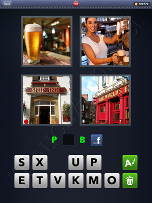 4 Pics 1 Word Level 1916 Solution