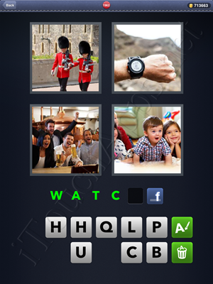 4 Pics 1 Word Level 1962 Solution