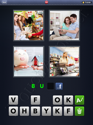 4 Pics 1 Word Level 1964 Solution