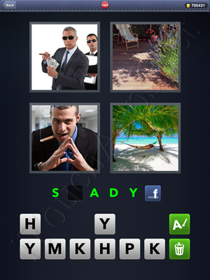 4 Pics 1 Word Level 1989 Solution