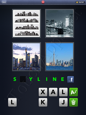 4 Pics 1 Word Level 1993 Solution