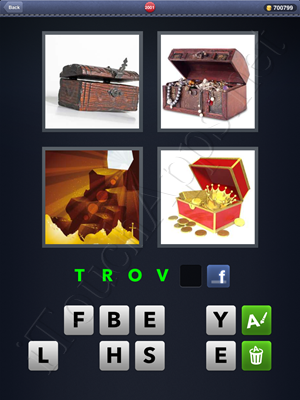 4 Pics 1 Word Level 2001 Solution