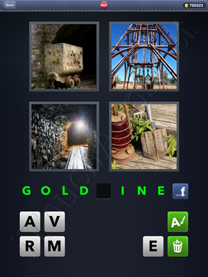 4 Pics 1 Word Level 2002 Solution