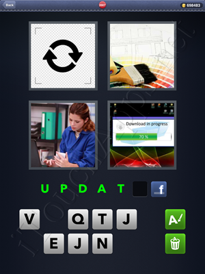 4 Pics 1 Word Level 2007 Solution
