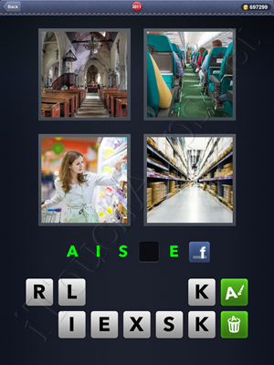 4 Pics 1 Word Level 2011 Solution