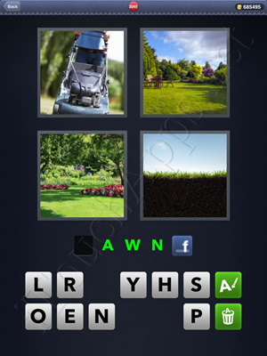 4 Pics 1 Word Level 2045 Solution