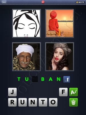 4 Pics 1 Word Level 2051 Solution