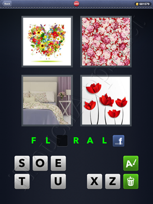 4 Pics 1 Word Level 2056 Solution