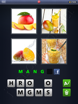 4 Pics 1 Word Level 2071 Solution