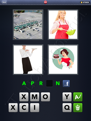 4 Pics 1 Word Level 2086 Solution