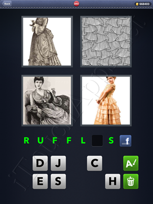 4 Pics 1 Word Level 2092 Solution