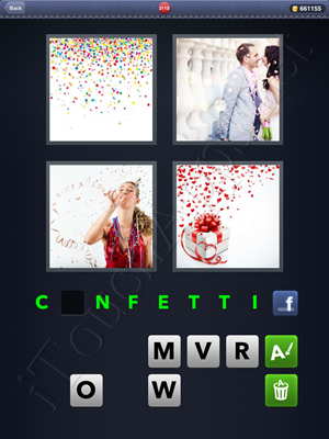 4 Pics 1 Word Level 2110 Solution