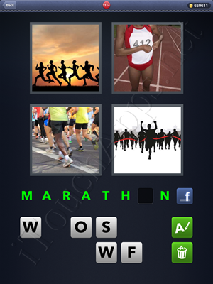 4 Pics 1 Word Level 2114 Solution
