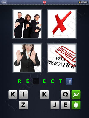 4 Pics 1 Word Level 2125 Solution