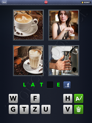 4 Pics 1 Word Level 2133 Solution
