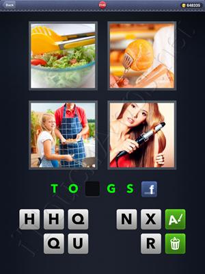 4 Pics 1 Word Level 2145 Solution