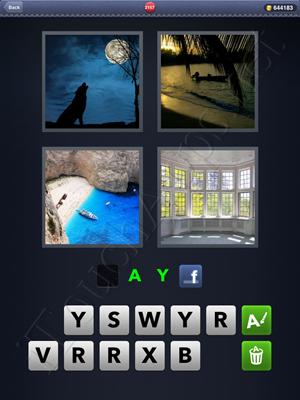 4 Pics 1 Word Level 2157 Solution