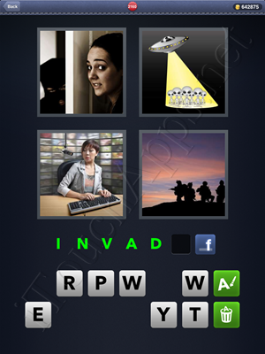 4 Pics 1 Word Level 2160 Solution