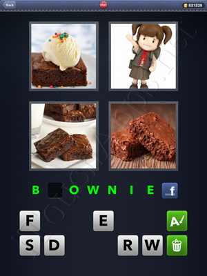 4 Pics 1 Word Level 2191 Solution