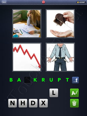 4 Pics 1 Word Level 2213 Solution