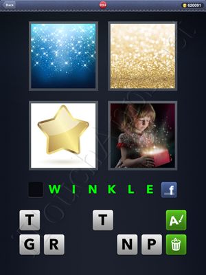 4 Pics 1 Word Level 2224 Solution
