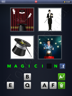 4 Pics 1 Word Level 2238 Solution