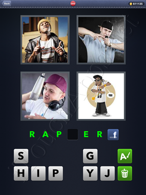 4 Pics 1 Word Level 2250 Solution