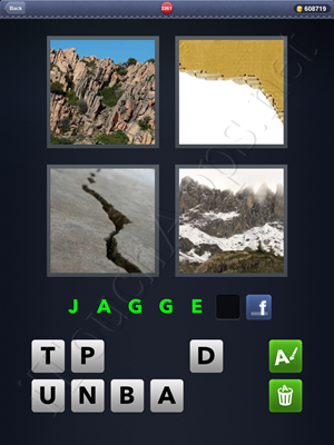 4 Pics 1 Word Level 2261 Solution