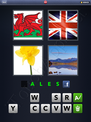 4 Pics 1 Word Level 2262 Solution
