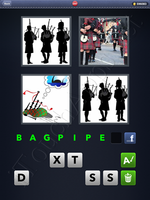 4 Pics 1 Word Level 2297 Solution