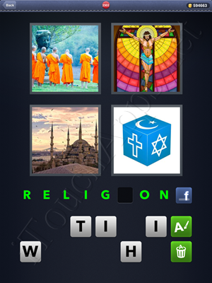 4 Pics 1 Word Level 2302 Solution
