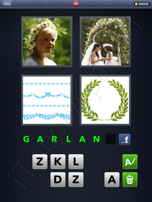 4 Pics 1 Word Level 2305 Solution