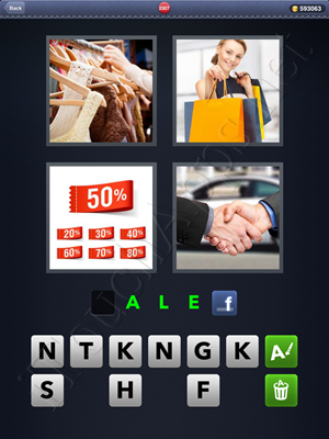 4 Pics 1 Word Level 2307 Solution