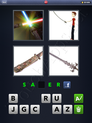 4 Pics 1 Word Level 2311 Solution