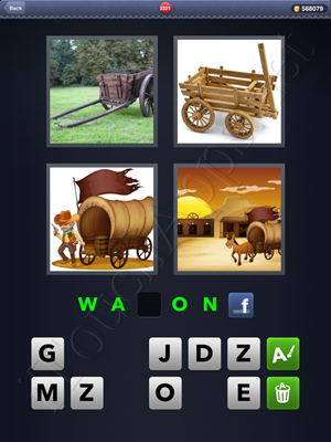 4 Pics 1 Word Level 2321 Solution