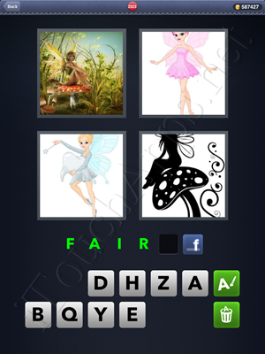 4 Pics 1 Word Level 2323 Solution