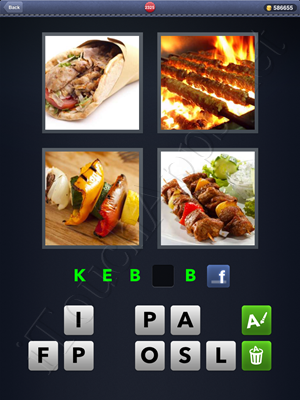 4 Pics 1 Word Level 2325 Solution