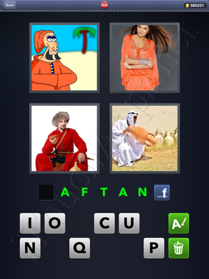 4 Pics 1 Word Level 2329 Solution